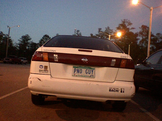 PNO-GUY - license plate